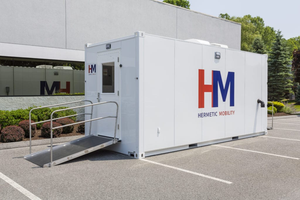 Hermetic Mobility Vaccine Unit